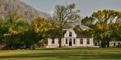 Rhone homestead - one of several historic homesteads on Boschendal Estate