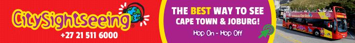 City Sightseeing Cape Town & Joburg