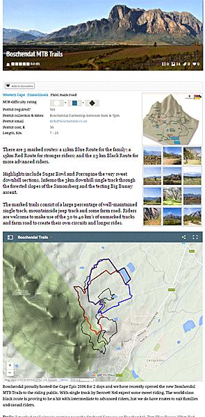 Boschendal MTB Trails