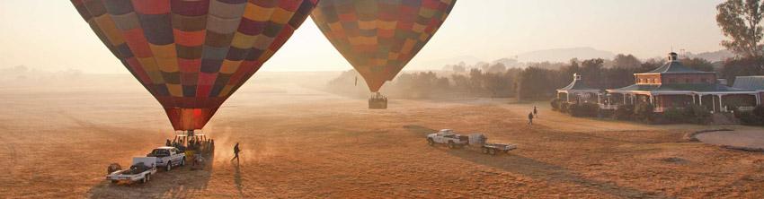 Ballooning near Magaliesburg