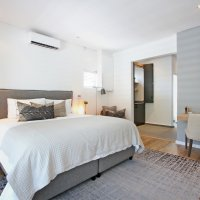 Mountain view room - aircon and underfloor heating in bathroom