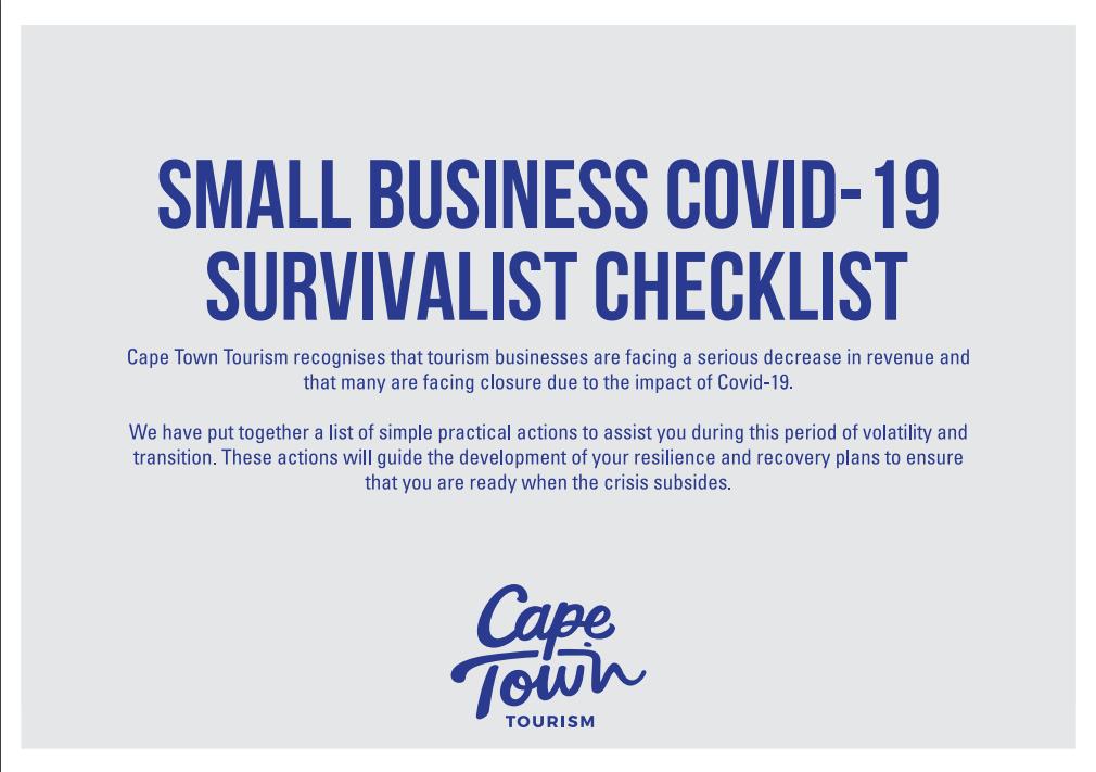 Covid-19 Survivalist Checklist