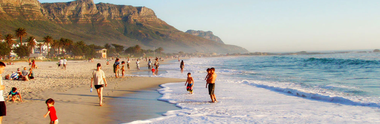 Camps Bay's world-famous beach, Cape Town