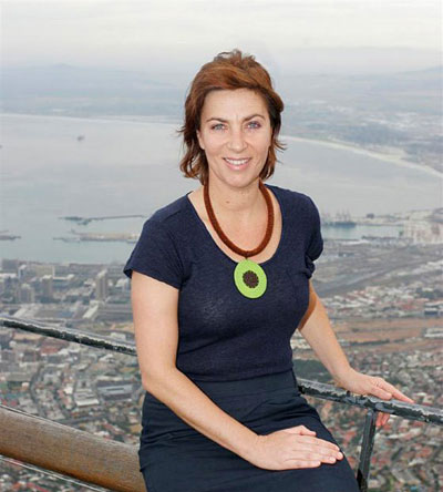 Sabine Lehmann, CEO of Table Mountain Aerial Cableway Company