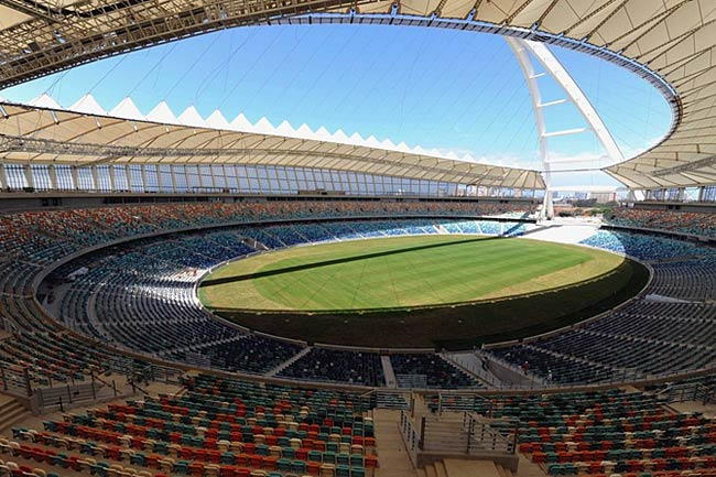 Interior of Moses Mabhida Stadium, Durban
