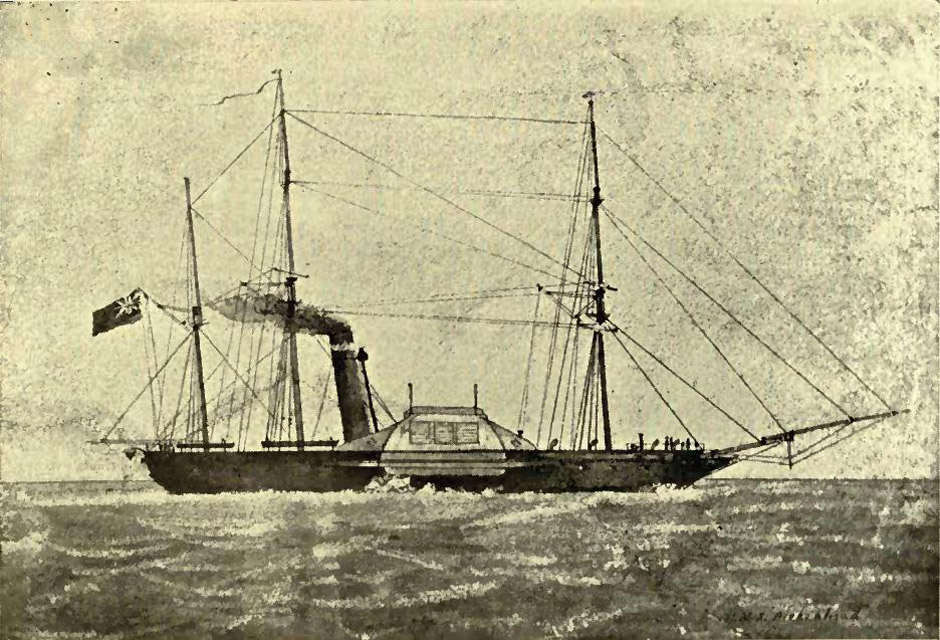 The Birkenhead-Troopship