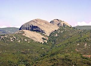 Paarl Rock - the second-largest granite outcrop in the world.