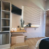 Inbuilt cupboard & fridge