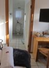 The Single Unit bedroom/kitchenette
