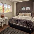 Queen size bed, quality mattress and linen.  Shower en-suite.
