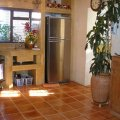 Fully equipped kitchen for self-catering use