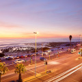 Seapoint Promenade in the evening