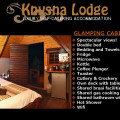 Knysna Lodge Self Catering (Glamping Cabin 1)