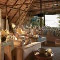 Victoria Falls River Lodge spacious lounge areas with river views