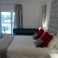 Silver Pebbles Suite - Bedroom to Patio view