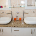 Basins in Deluxe Double Room Bathroom