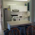 Kitchen to bedrooms