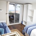 Sea view from Driftwood bedroom - lie in your bed and watch the waves!