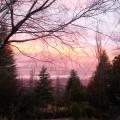 Woodlands Retreat - Sunset over Horeb