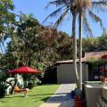 Outside pool area