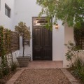 The White Cottage garden entrance
