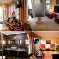 Strelitzia Luxury Suite-This ultra-modern and chic apartment has a well appointed bathroom off bedroom and has a large walk-in glassed shower.The apartment embodies the SecretGarden Guesthous theme of Afro-chic elegance and luxury and is equipped with a k