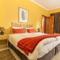 Bedroom with Patio sliding doors.