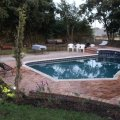 Swimming pool and braai