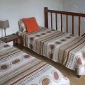 Two beds for extra sleeping capacity (share bathroom) Cottage sleeps 8 in total.