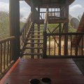 Viewing deck overlooking the Kruger National Park