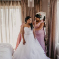 Getting ready for the wedding at Cape Pillars Boutique Hotel in Durbanville
