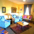 Onrus River Cottage - Comfortable Lounge and Relaxation Area