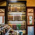 Tasting room: jams,pickles,chillies and liquors