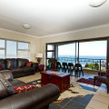 Shared living room ocean view