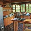 Kitchen at Otter's Barrel