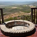 Fire Pit overlooking the farm