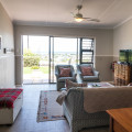 Unit 3 -lounge with extra single bed in corner