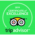 CERTIFICATE OF EXCELLENCE FROM TRIPADVISOR 2019