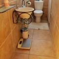Guest toilet on upper floor