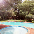 Swimming pool outdoors