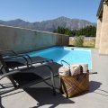 Relax by your own private heated pool.