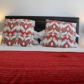each bedroom has a queen size comfortable luxury bed