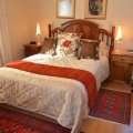 Double Bed with Ensuite Bath/Shower with Double Sleeper Couch, TV, Aircon