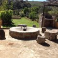 Communal lapa/braai and plunge pool