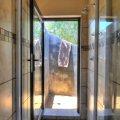 Inside / outside shower