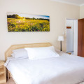 2 bed roomed apartment main bedroom