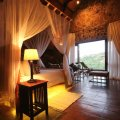 Ntwane our honeymoon suite is luxuriously appointed, and has a wonderful view across the valley