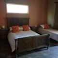 large bedroom of cottage for6