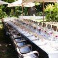 Wedding Reception in our garden