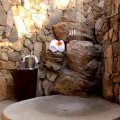 Outside Stone Shower